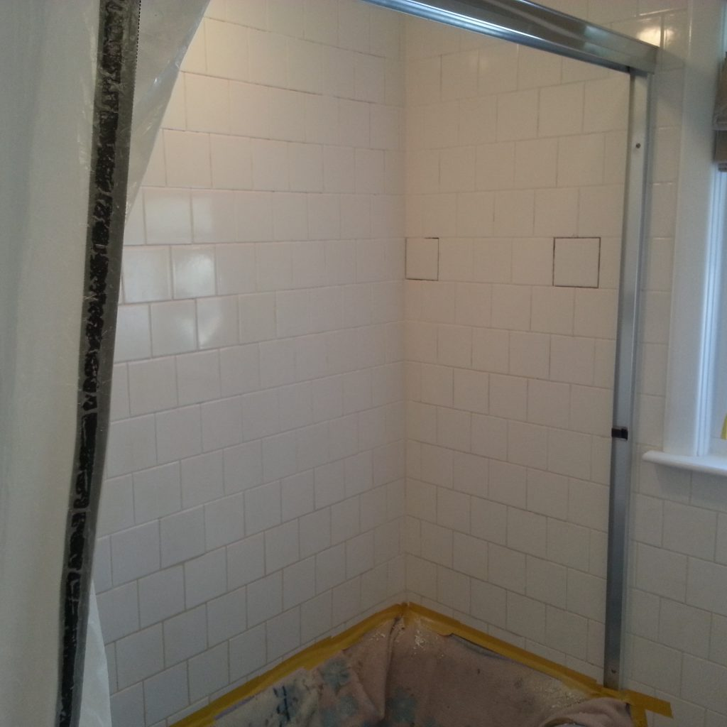 Shower Tile And Grout Repair