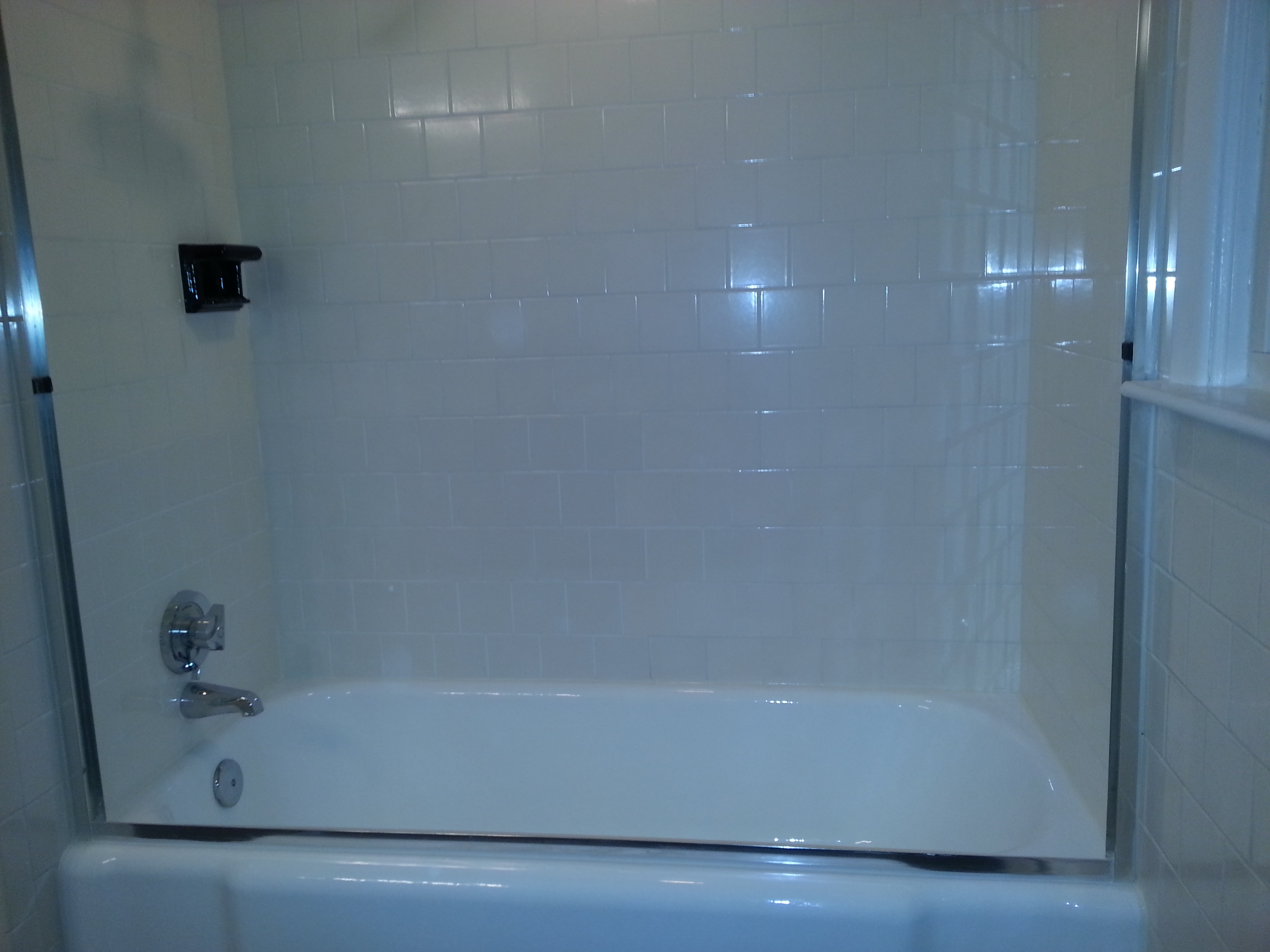 bathroom tile repair shower tile and grout repair touch of gloss 11676